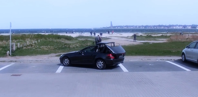 zieh karre strand