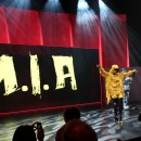 M.I.A. - als Überraschungsgast live on stage!