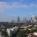 Beverly Hills. Aussicht vom Restaurant des Hotels (Mr. C)