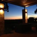 Außenbereich des Restaurants - Sundown